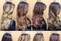 Ombrê, Balayage,sombre, highlight, blonde