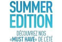 Summer Edition 2015 / Le mer, la plage, le sable.....& des solaires !