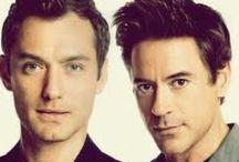 RDJ & JL / Robert Downey Jr. & Jude Law
