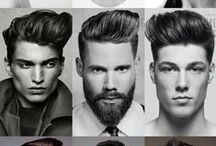 Men hairstyles / Men haircuts, hairstyles, color and updo :-)