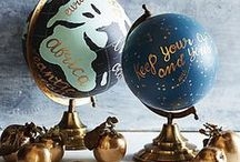 A M A Z I N G • G L O B E S / Every home needs a globe, so this is all about GLOBES!