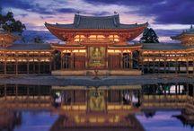 Japanese Temple 寺 / 京都のお寺が多いかもですね。比叡山、高野山、敢えて外しました(他にボードがあるので)。今度、京都行った時、京都五山巡りでもしようかいな?でも、京都行くと、四条河原町についつい、行ってしまってw 何かとね。便利なんで・・・w(微妙に苦しい言い訳w)