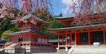 """本州 """"Hiei-Zan"""" / 三大霊山として、恐山、高野山と共に有名です。比叡山/奥比叡ドライブウェイが比叡山内に点在する社寺仏閣を結ぶように続きます。"""