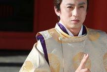 """着物 """"Kariginu"""" / 狩衣です。画像少なしw  神社の神主さんとか、よく着てますよね。一度、着て見たいかもw"""