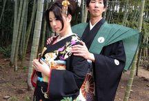 """着物 """"Kamishimo"""" / 裃ですね。お侍さんのイメージが強いです。が、節分とかにビジネススーツの上に裃を付けるのは止めて欲しいですw よく、偉そうなオッサンとかがやってますけど、センス疑いますw"""