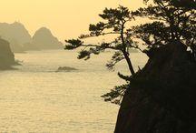 """四国 """"Sanuki/Awa"""" / 四国の東側です。鳴門の渦潮って不思議ですね。千羽海崖や阿波の土柱、祖谷渓、大歩危/小歩危など個性的な見所の多いエリアです。小豆島も素晴らしい観光地ですね。寒霞渓オススメです。紅葉時がいい時期かも知れないですね、寒霞渓は。"""