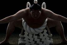 Sumou 相撲 / 国技、相撲です。お相撲さんって本当にデカいです。んで、いい匂いするんですよ、お相撲さん。マゲを結ってないといい匂いは、しないと思うけど。どうなんでしょうかね?