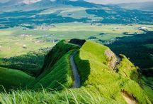 """九州 """"Hizen/Higo"""" / 主に長崎、熊本辺りの風景です。天草とか阿蘇とか九十九島とか結構贅沢なエリアですが、移動、メッチャかかります。キリシタンの悲しい歴史の舞台です。夕日が綺麗なんですよ。歴史と相まって悲しく切なく、センチメンタルになる事請け合いです(天草、島原辺りの事ですよ)。"""