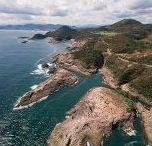 """九州 """"Satsuma/Osumi/Hyuga"""" / 鹿児島、宮崎の風景です。関係ないですけど、父親方の実家が宮崎県なんです。どうでもいいって?ですよねーw ちょっと言ってみたかっただけですw 桜島、霧島、指宿、日南海岸、高千穂峡等、見所は尽きません。"""