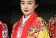 """着物 """"Ryukyu/Ainu"""" / 琉球装束とアイヌ装束です。両方共、味わいの深い着物ですね。"""