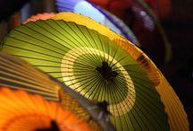 Japanese Umbrella 和傘 / 傘です。時代劇とかで長屋の浪人がよく作ってますよねw