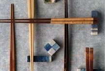 Japanese Chopsticks 箸 / 箸、箸袋、箸置き、箸ケースなどです。箸が綺麗だと、食事も楽しくなりますよね♩