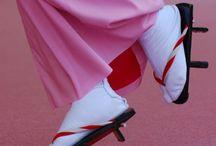 """着物 """"Geta/Setta/Zouri/Waraji"""" / 履物です。夏は、やっぱり下駄ですねー♪ 後の季節は、草履や雪駄では ないでしょうか?草鞋は、別としてね。ってか、オシャレ草鞋が最近、チョイ流行りみたいですね。"""