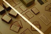 Hyakunin-Issyu 百人一首 / かるただと、子供の遊び的な感覚なので百人一首でボードを作りました。更にかるただと「花札」まで出てくる始末w 花札もかるたの一種といえば一種か?正式には、百人一首も「小倉百人一首」でしたかね^ ^