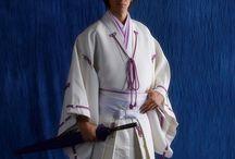 和装男子 Kimono Men's / 甚兵衛、作務衣、法被は着物ではありませんが、和装という事でw