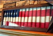 Holidays - Patriotic / Craft projects, decorating and entertaining ideas with a patriotic flair. / by Nancy Hitchcock Clewell