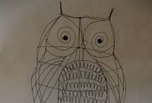 Creative owling / Everything 'owl' be crazy about.  / by Jenn Brucker