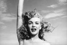 Marilyn Monroe / My favorite photos of the lovely light that is Marilyn Monroe.