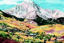 Aspen • Snowmass fall colors / Fall Colors, Colorado, September gold