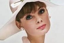 The Face: Jean Shrimpton. / She was the first photographic model to have an impact on mainstream media. David Bailey made the best photographs of her. She quit at the height of her fame.  (Images are copyright of their respective owners, assignees or others.)