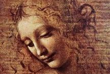 """""""Leonardo da Vinci"""" / Feel free to pin any photos from the artist Leonardo da Vinci. If you want to be invited just follow the board or comment ADD ME on one of the ADD ME Pins. / by Kunst für Alle"""
