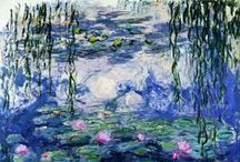 """Claude Monet"" / Feel free to pin any photos from the artist Claude Monet. If you want to be invited just follow the board or comment ADD ME on one of the ADD ME Pins. / by Kunst für Alle"