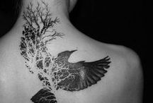 Tattoos & Art for Inspiration / Human canvas. / by Jessica Zarrillo