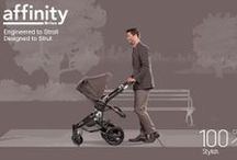 Affinity Stroller - Fossil Brown / Turn the sidewalk into your personal catwalk with the Affinity Stroller by Britax. Start with our sleek base frame design and add a Fossil Brown color pack to complete your customized look. Learn more at http://www.britaxusa.com/affinity.