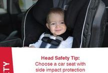 Head Safety Tips / Any part of your child's body can become injured during a crash, however, head safety is critical because head injury is the leading cause of death for children up to 12 years old involved in vehicle crashes. Learn how Britax convertible car seats protect your child with revolutionary head safety technologies: www.britaxusa.com/only-the-best  / by Britax
