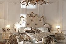 Sweet Dreams / Beautiful bedrooms and furnishings / by Palatial Stone and Tile