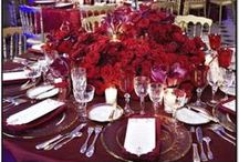 Floral Table Decorations / Decorate the table with luxurious floral arrangements
