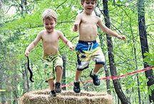 Estate con i bambini / Esplorazioni senza confini. I 5 sensi. La natura. Idrodinamica. Astronomia. Outdoor survival!