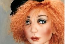 Orignal artist dolls... / Anything to do with art dolls / by Julia Rueger