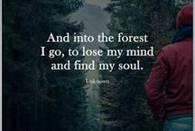 """Backpacking and Hiking / """"The woods are lovely, dark, and deep."""" - Robert Frost"""