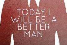 Keep It Classy / A gentleman will not insult me, and no man not a gentleman can insult me. - Frederick Douglass