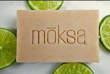 mōksa body & face bar soaps / organic soaps
