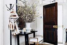 Entryway / interior design inspiration for your entryway.