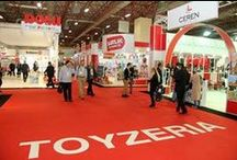 Toyzeria 2013 / Today Toyzeria 2013 had its grand opening. This fair for toys, licences, games and gaming equipment takes place from 31 October to 3 November 2013 in Istanbul and will be again the meeting point for the toy sectors of near and Middle East, Turkey and Eastern Europe. / by Spielwarenmesse