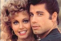 """My """"Grease"""" movie obsession / I love the movie """"Grease"""" and this are my favourite images of that film, as well as some related Grease transformations and costumes. / by Marta Docampo"""