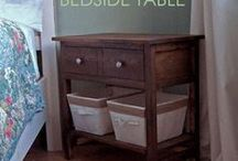 DIY: Woodworking Projects and Furniture / I'm gonna my own furniture one day.