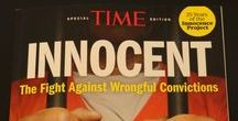"""Innocence Project / The great injustice of wrongful imprisonment speaks to my soul like no other cause. There are an estimated 100,000 people incarcerated in the USA for crimes they did not commit. Land of the free my ass! Our """"justice"""" system is broken and you could be next! Get involved if you can, and if you can't, then I ask you to please consider making a donation on innocenceproject.org"""