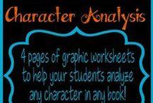 HS ELA: Character Analysis