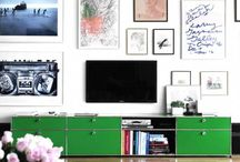 TV Wall Styling / Decorating the empty space behind your TV...