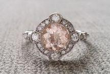 Vintage rings - various design types