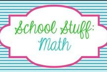School Stuff - Math / by Molly - Lucky to Be in First