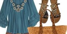 My Style / I'm very casual, bohemian, hippie, tropical and natural, but sometimes like to dress up.  ***NO HEEL ZONE***