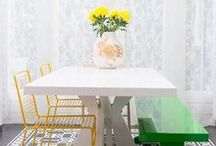 Dining room and setting inspiration / by The Penny Drops