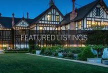 Featured Listings / A collection of luxury real estate listings from around the globe.
