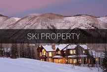 Ski Properties / Skiing retreats, mountain villas and luxury log homes located in the most sought after ski locations in the world represented by Sotheby's International Realty.   http://www.skipropertysir.com