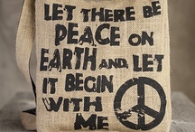 Peace  ✌❤✌ / Peace.  We need more peace in our world - not hate.  Please spread love and peace with every breath.
